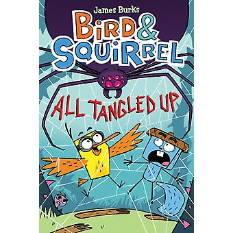Bird amp Squirrel All Tangled Up by James Burks