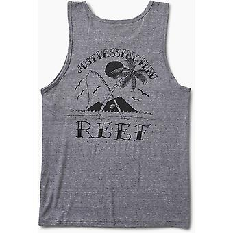Reef Catch Sleeveless T-Shirt in Grey Heather