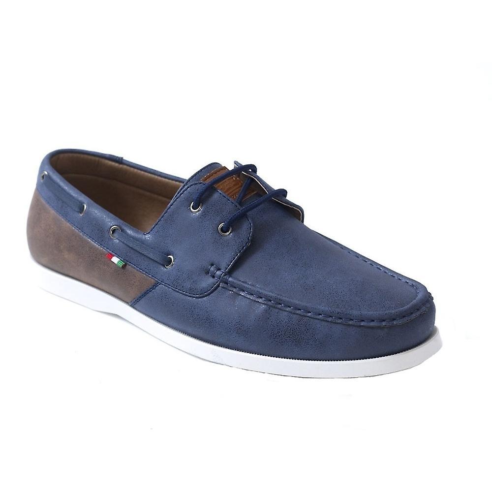 Duke Mens Monroe-1-D555 Lace Up Deck Shoes