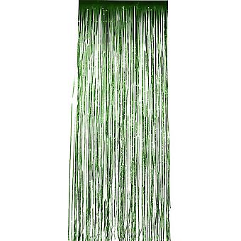 Hohtaa verho, metallin vihreä 91x244cm / 36x96in
