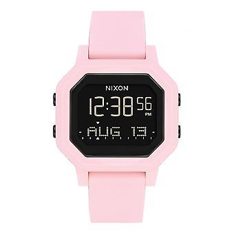 Nixon Watch A1210-3154-00 - Siren Digital Silicone Rose Women's Watch