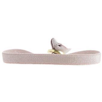 Les verwisselbare riem A50312-6mm beige roze vrouwen lint