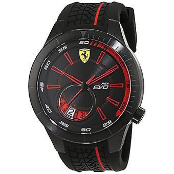 Relógio analógico de quartzo, Scuderia Ferrari masculino, 0830339