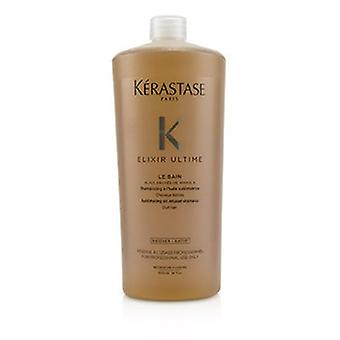 Kerastase Elixir Ultime Le Bain Sublimating Oil Infused Shampoo (dull Hair)  1000ml/34oz