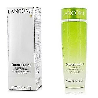 Lancome Energie De Vie Smoothing & Plumping Pearly Lotion - Voor alle huidtypes, zelfs gevoelig (gemaakt in Japan) 200ml/6.7oz