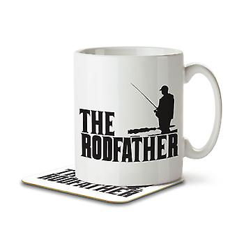 The Rodfather - Mug and Coaster