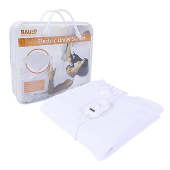 Bauer Single Electric Under Blanket 3 Heat 60x120cm