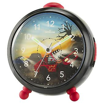 ATRIUM Children's Alarm Clock Alarm Clock Analog Quartz Football Boys A932-7 Ramper