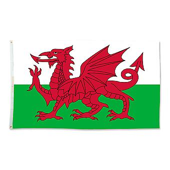 Bristol Novelty Miniature Welsh Flag
