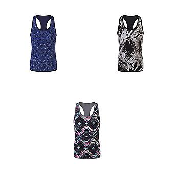 Skinni Minni Childrens/Kids Girls Reversible Workout Vest
