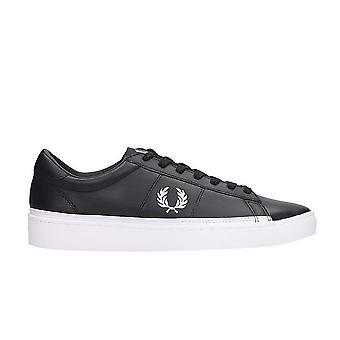 Spencer Black Low-Top Sneakers