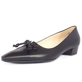 Peter Kaiser Lizzy Ladies Shoe In Black Leather