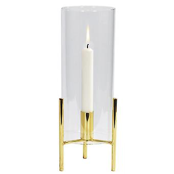 Candlestick Gold-coloured metal