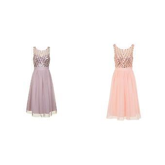 Little Mistress Womens/Ladies Sequin Midi Dress