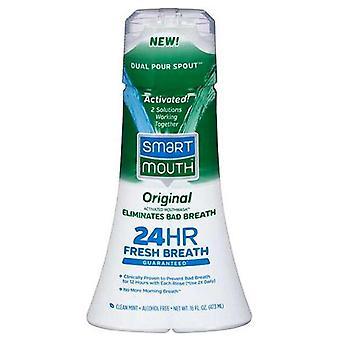 Smartmouth originele clean Mint geactiveerd Mouthwash, 16 Oz