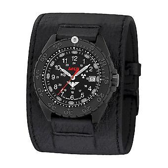 KHS Wristwatch الرجال المنفذ الأسود تيتان CR KHS. ENFBTCR. Lk