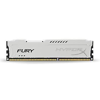 HyperX HX318C10FW/8 Fury 8 GB, 1866 MHz, DDR3, CL10, UDIMM, 1.35V, White