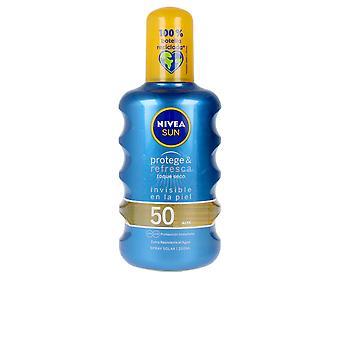 NIVEA Sun Protege & Refresca Spray Spf50 200 Ml Unisex