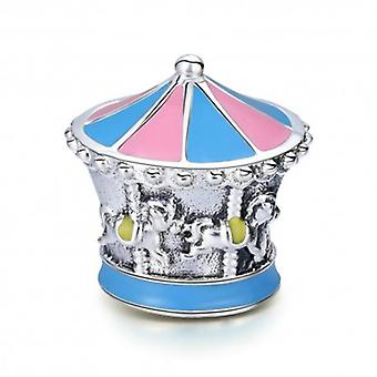 Sterling Silver Charm Merry-go-round - 5646