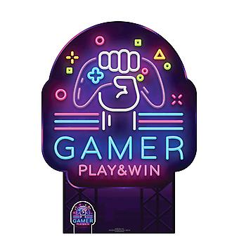 Gamer Sign Cardboard Cutout / Standee / Standup