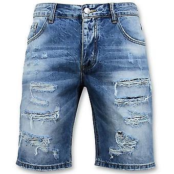 Shorts - Dratt Kort - 9073 - Blå