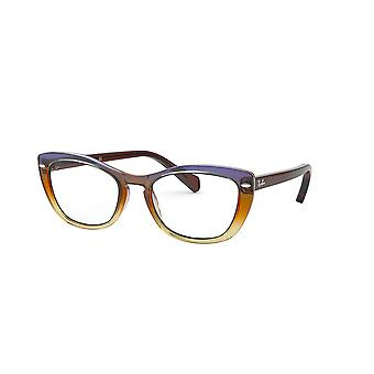 Ray-Ban RB5366 5836 Trigradient Brown/Violet/Yellow Glasses