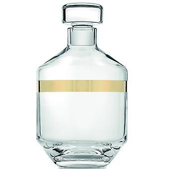 Ivv Avenue Liqueur Bottle 0,9L Cear Gold Decoration