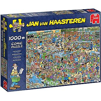 Jan Van Haasteren - The Pharmacy Jigsaw Puzzle Puzzle 1000 Pieces