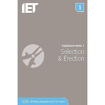 Guidance Note 1 - Selection & Erection by The Institution of Engin