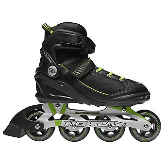 No Fear Mens Cyclone Inline Skates Roller Blades Four Wheel Sports