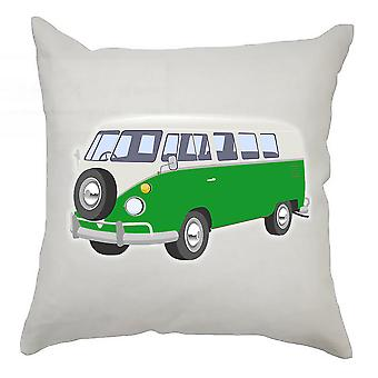 Campervan Cushion Cover 40cm x 40cm Green