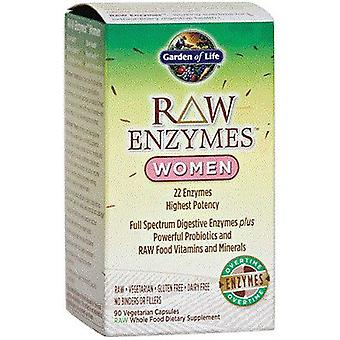 Garden of Life Raw Enzymes Women 90 vcaps