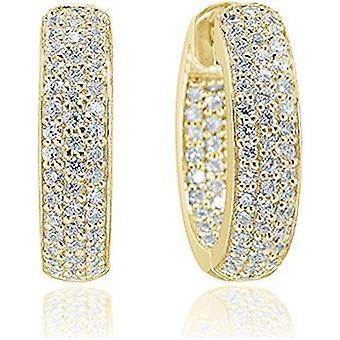 Sif Jakobs Earrings Imperia gold plated SJ-E1857-CZ(YG)