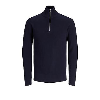 Jack & Jones Men's Jesper Sweater Half Zip Premium Collection