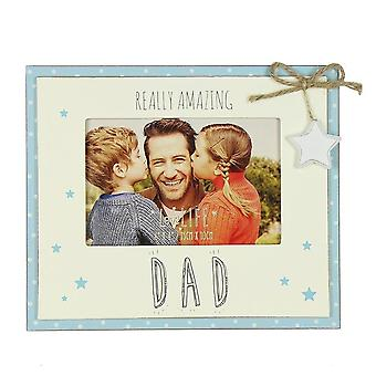Widdop & Co. Love Life Amazing Dad 6 X 4 Photo Frame