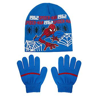Spiderman boys hat and gloves set spi4010hat