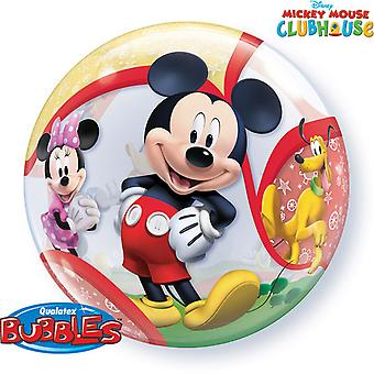 Qualatex Disney 22 Inch Mickey Mouse Clubhouse Single Bubble Balloon