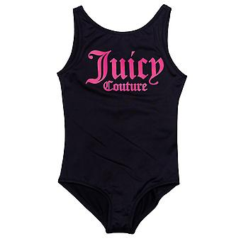Mädchen's Juicy Couture Säugling juicy Badeanzug in blau