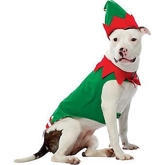 Large Dog Elf Costume