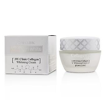 3W Clinic Collagen White Whitening Cream 60ml/2oz