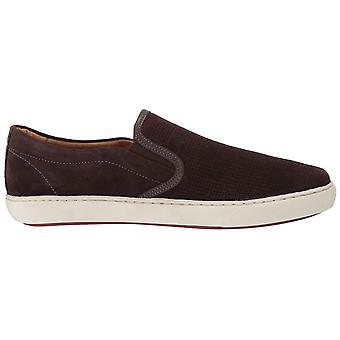 Driver Club USA Men's Shoes 62069-BN Leather Closed Toe Slip On Shoes