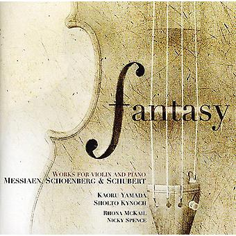 Fantasy: Works For Violin & [CD] USA import