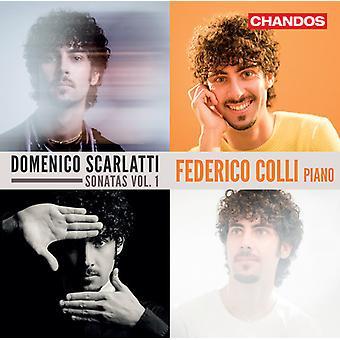 Scarlatti / Colli - Piano Works 1 [CD] USA import