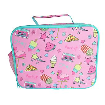 Pink summer fun lunch bag