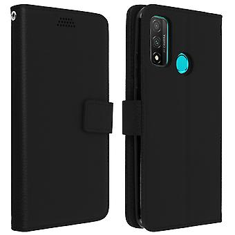 Protective Case for Huawei P smart 2020 Folio with video support - black