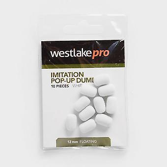 Westlake Popup Dumbell 12mm White 10Pcs Natural