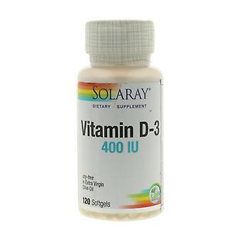 فيتامين D3 120 الكبسولات اللينة
