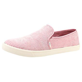 Toms Clemente Womens Slip On Shoes in Lilac