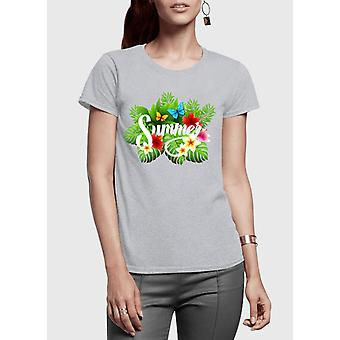 Summer time half sleeves women t-shirt