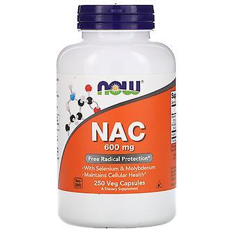 Ora Alimenti, NAC, 600 mg, 250 Veg Capsule